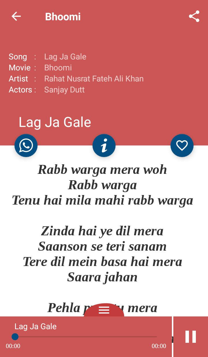 Hindi Songs Lyrics For Android Apk Download If you think any song is missing on bollytube top 25, or if you would like to collaborate to most viewed playlist use following link. hindi songs lyrics for android apk