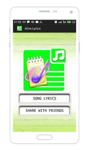 Sia - Alive Lyrics for Android - APK Download