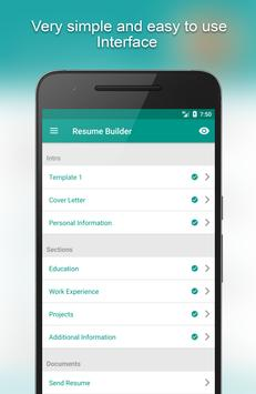 resume builder app free poster - Resume Builder App Free