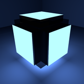 Space cube free platform game icon