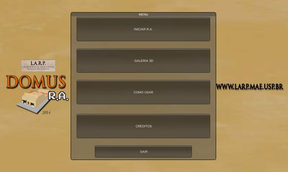 DOMUS RA apk screenshot