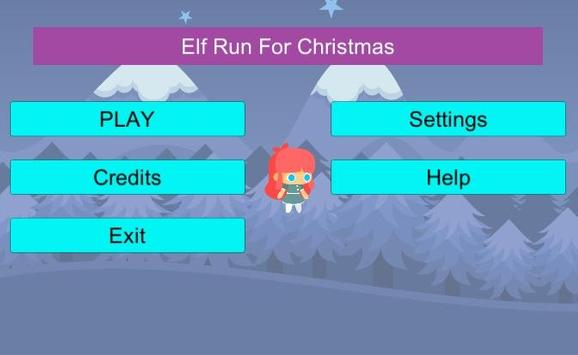 Elf Run For Christmas poster