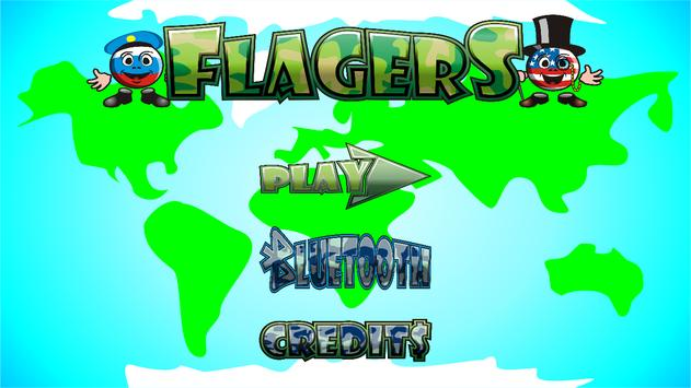 Flagers: War of Virus (Puzzle game) screenshot 2