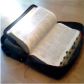 LDS Scripture Alarm/ Bookmark icon