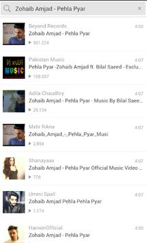 Zohaib Amjad Pehla Pyar Songs apk screenshot
