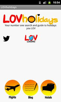 LOVholidays - Hotels & Flights poster
