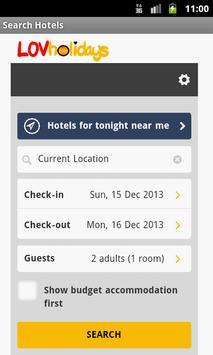 LOVholidays - Hotels & Flights apk screenshot