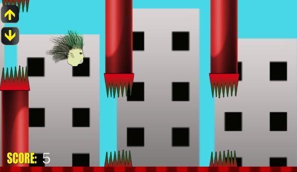 Flappy Crazyhead apk screenshot