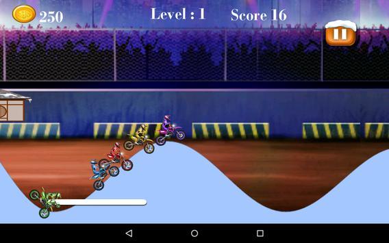 Bike Hill Race Mania apk screenshot