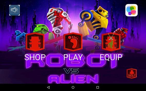 Robot Vs Alien apk screenshot