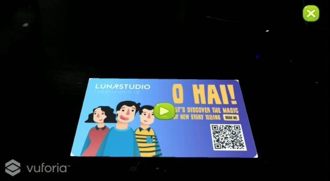 Lunar Business Card apk screenshot