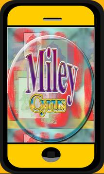 Miley Cyrus Lyric and Songs poster
