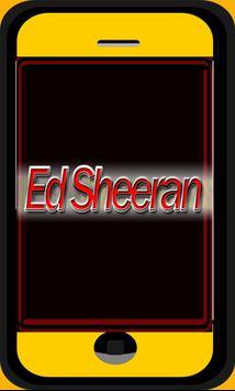 Ed Sheeran Lyric and Songs poster