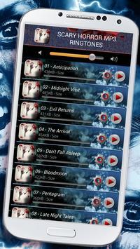 Scary Horror Mp3 Ringtones apk screenshot