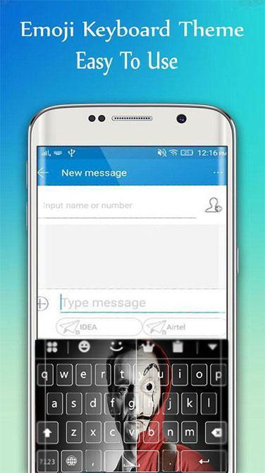 la casa de papel keyboard theme para Android - APK Baixar
