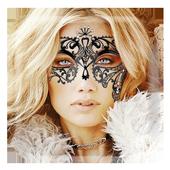 Lace Eye Mask Sticker Camera icon