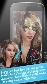Lace Eye Mask Sticker Camera apk screenshot