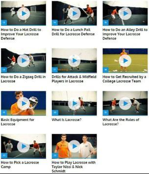 Lacrosse Lessons apk screenshot