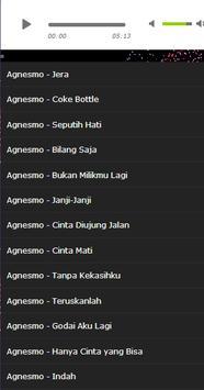 Song agnes monica song apk screenshot