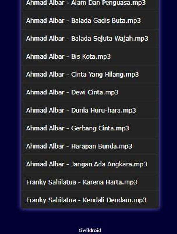 Download mp3 ahmad albar syair kehidupan.