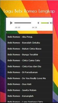 Song Collection Bebi Romeo Complete Mp3 2017 screenshot 2