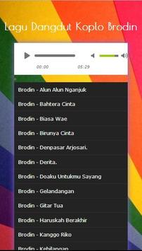 Song Collection Dangdut Koplo Brodin Mp3 2017 screenshot 1