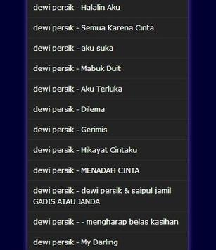 lagu Dewi Persik Lengkap Mp3 screenshot 7