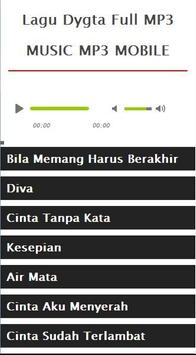 Lagu Dygta Full MP3 apk screenshot