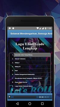 Lagu Ebiet G ade Lengkap apk screenshot