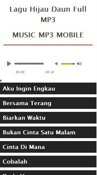 Lagu Hijau Daun Full MP3 screenshot 4