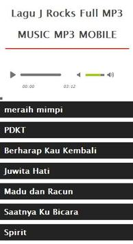 Lagu J Rocks Full MP3 apk screenshot