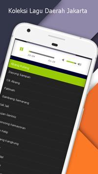 Lagu Jakarta - Koleksi Lagu Daerah Mp3 apk screenshot