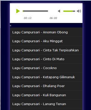 Lagu Jawa Campursari poster