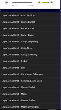 Lagu Khas Jawa Barat Terbaik screenshot 1