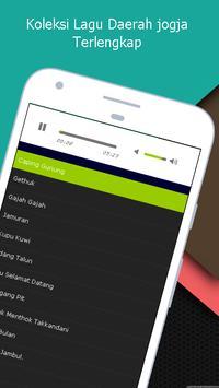 Lagu Jogjakarta - Koleksi Lagu Daerah Mp3 apk screenshot