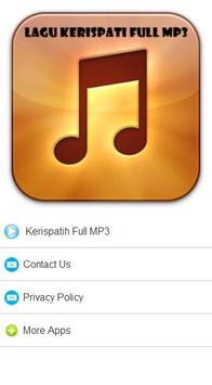 Lagu Kerispatih Full MP3 poster