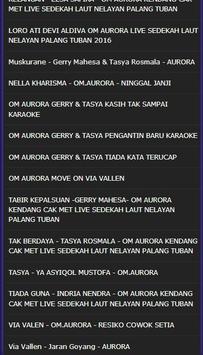Koplo Dangdut Om Aurora Top Mp3 Lengkap 2017 screenshot 4