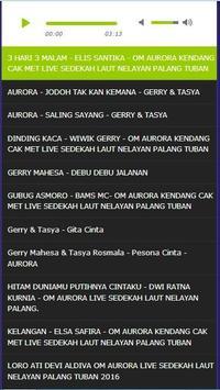 Koplo Dangdut Om Aurora Top Mp3 Lengkap 2017 screenshot 6