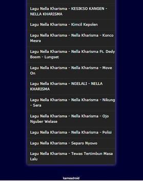 Lagu-Lagu Dangdut Nella Kharisma Terlengkap 2017 apk screenshot