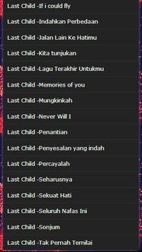 Last Child songs full mp3 screenshot 2
