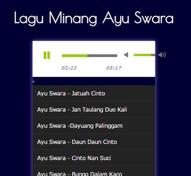 Lagu Minang Ayu Swara MP3 screenshot 1