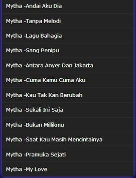 Mytha song - I just have a heart apk screenshot