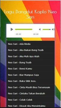Song Collection Dangdut Koplo Neo Sari Mp3 2017 screenshot 2