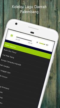 Lagu Palembang - Koleksi Lagu Daerah Mp3 apk screenshot