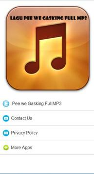 Lagu Pee Wee Gaskins Full MP3 apk screenshot