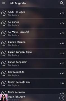Lagu Rita Sugiarto mp3 Terpopuler apk screenshot