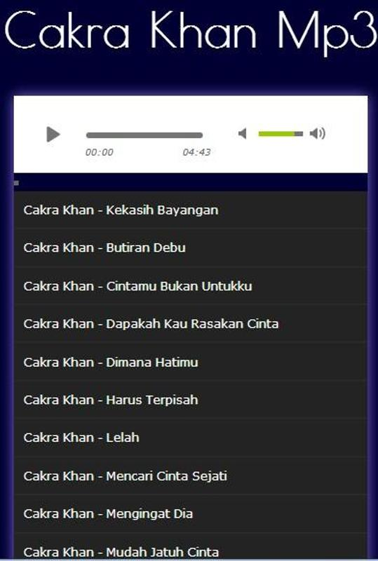 Download cakra khan kekasih bayangan full album google play.