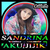 Lagu Terbaru Aku Jijik Sandrina offline icon