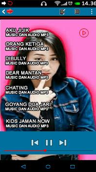 Lagu Terbaru Aku Jijik Sandrina offline screenshot 1