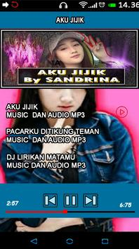 Lagu Terbaru Aku Jijik Sandrina offline screenshot 4